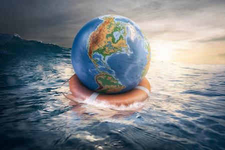 Drowning earth
